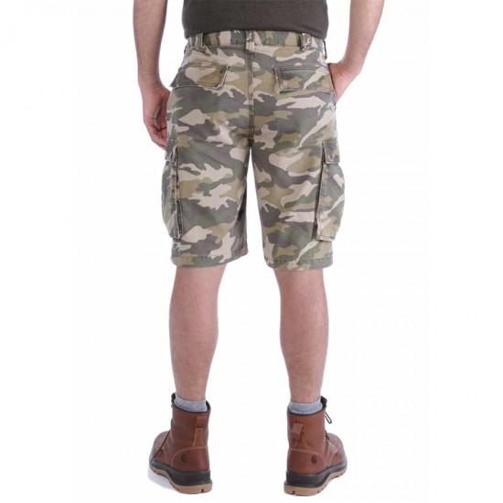 Rugged Cargo Camo Shorts