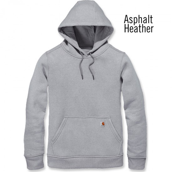 Clarksburg Pullover Hoodie - Asphalt Heather, Large