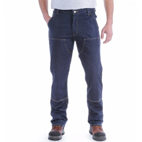 Double Front Dungaree Jean