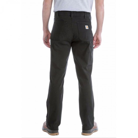 Straight Fit Stretch Duck Dungaree