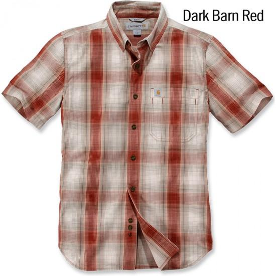 Essential Plaid Short Sleeve Shirt