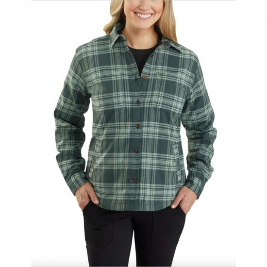 Hamilton Plaid Flannel Shirt Jacket
