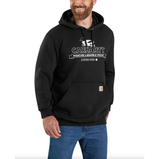 Loose Fit Mid Weight Super Dux Graphic Sweatshirt