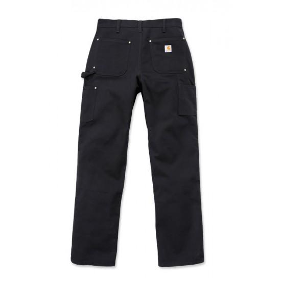 Double Front Logger Pant - Black, W:31/L:32