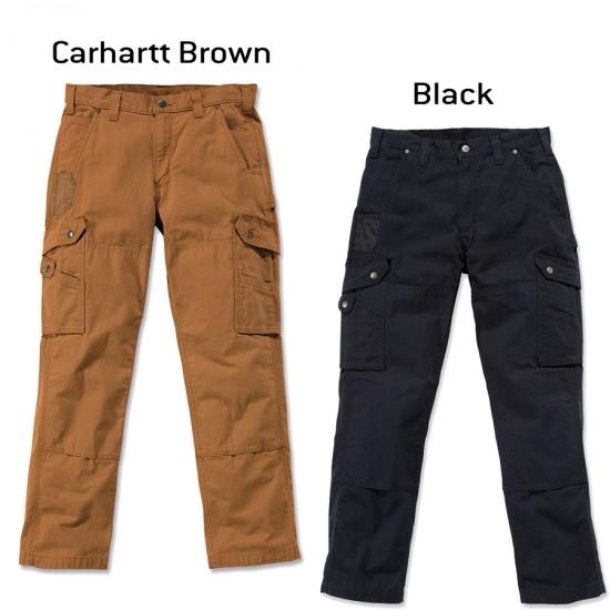 Ripstop Cargo Work Pant (Black & Carhartt Brown)
