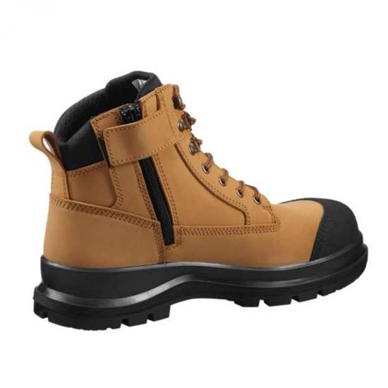 """Detroit 6"""" Zip Rugged Flex S3 Safety Boot"""