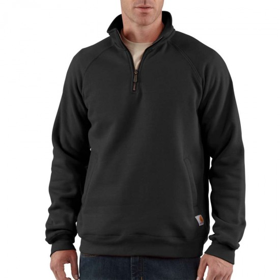 Quarter Zip Mock Neck Sweatshirt