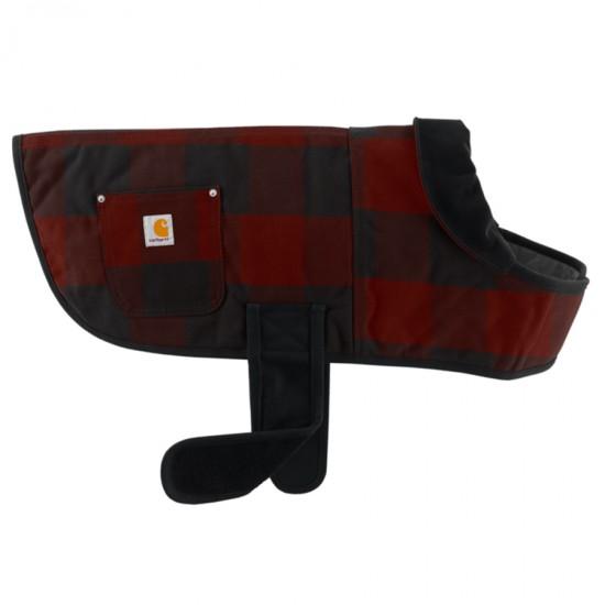 Dog Plaid Chore Coat