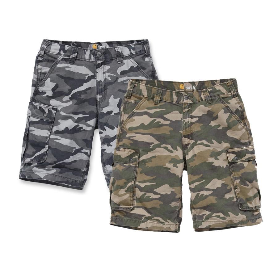 carhartt rugged cargo camo shorts 100279. Black Bedroom Furniture Sets. Home Design Ideas