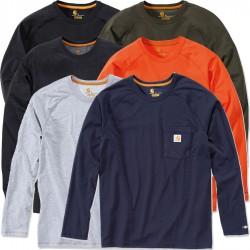 Carhartt FORCE Cotton Long-Sleeve T-Shirt (100393)