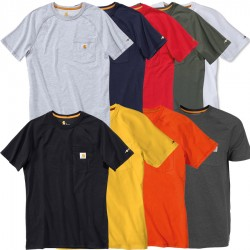 Carhartt FORCE Cotton Short-Sleeve T-Shirt (100410)