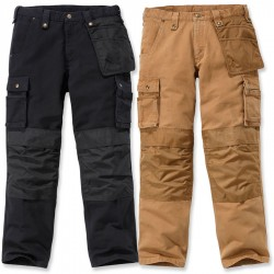 Carhartt Washed Duck Multipocket Pant (101837) - Carhartt Brown, W:28/L:30