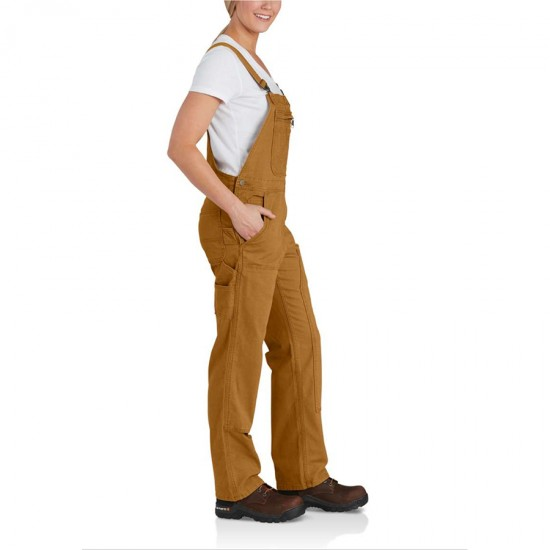 Crawford Double-Front Bib Overalls