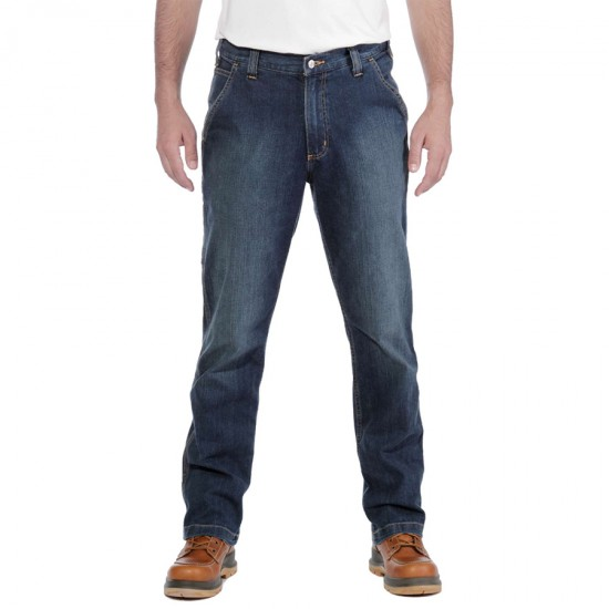 Rugged Flex, Dungaree Jeans