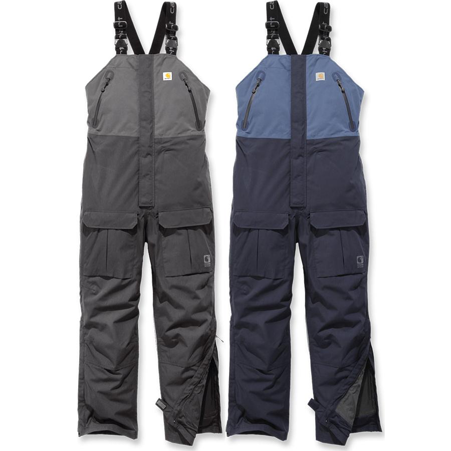 ca6f7aff05a70 Carhartt Waterproof Angler Bib Overalls (102984)