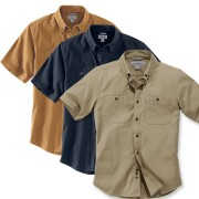 Carhartt Lightweight Rigby Solid Short Sleeve Shirt (103555)