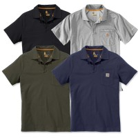 Carhartt Force Cotton Delmont Pocket Polo (103569)