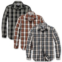 Carhartt Essential Open Collar Plaid Shirt (103667)