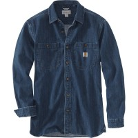 Carhartt Denim Long Sleeve Shirt (103854)