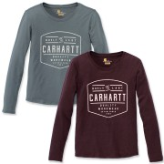 Carhartt Women's Lockhart Graphic Long Sleeve Tee (103929)