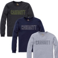 Carhartt Block logo Long Sleeve T-Shirt (104106)