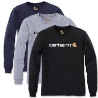 Carhartt Long Sleeve Core Logo T-Shirt (104107)