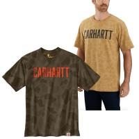 Carhartt Camo Block Logo T-Shirt (104346)
