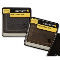 Carhartt Pebble Zip Bifold Wallet (61-2320) NEW