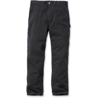 Carhartt Washed Twill Dungaree, Black (B324)