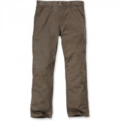 Carhartt Washed Twill Dungaree, Dark Coffee (B324)