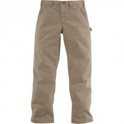 Carhartt Washed Twill Dungaree, Dark Khaki (B324)