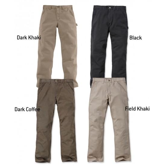 Carhartt Washed Twill Dungaree -Dark Khaki, W:31/L:32