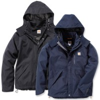 Carhartt Shoreline Jacket (J162) - Black, Medium