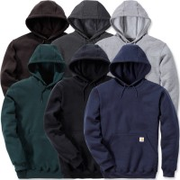 Carhartt Hooded Sweatshirt - Midweight (K121) - XX Large, Carbon
