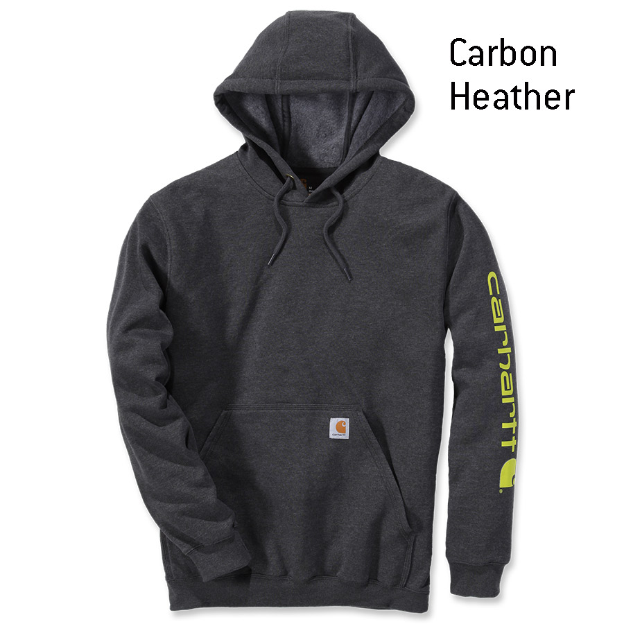 Carhartt Signature Sleeve Logo Hooded Sweatshirt