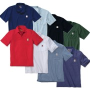 Carhartt Contractor's Work Pocket Polo (K570) - X Small, White