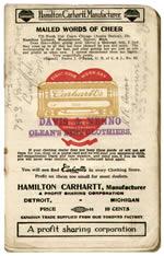Carhartt Timeline 1916