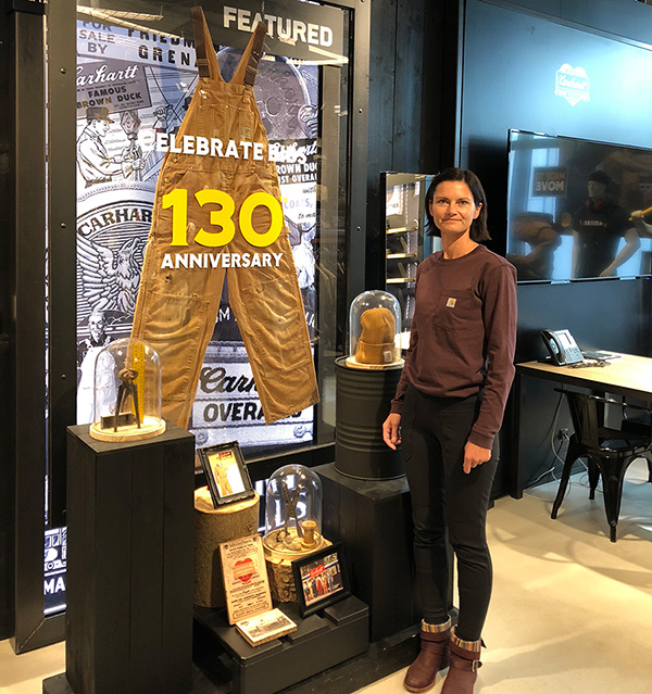 Rachel in Amsterdam 2018 celebrating 130 years