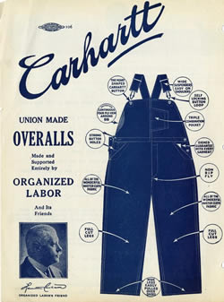 Carhartt Timeline 1889