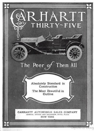 Carhartt Automobile Advert