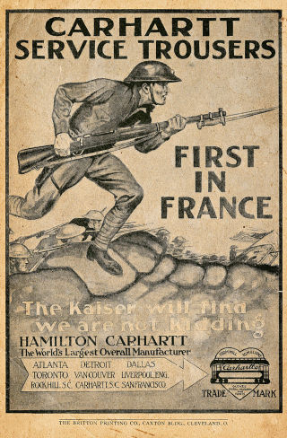 First World War Advert