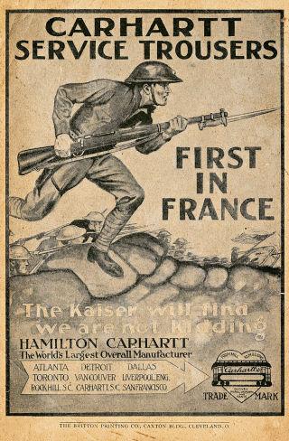 First World War Advert